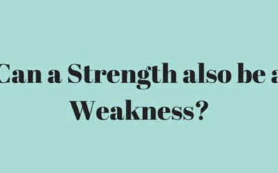 What Turns a Strength into A Weakness?